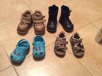 Отдам детскую обувь - image.jpeg