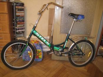 Отдам даром складной велосипед STELS - IMG_1826.JPG